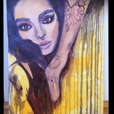 40x50cm, oil on canvas, 2016